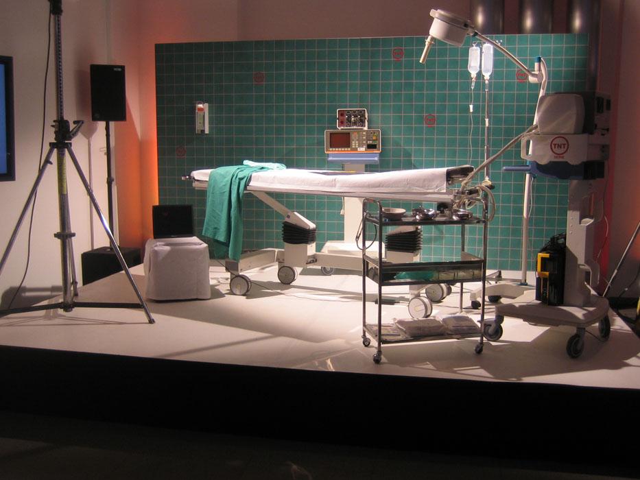 Bühnengestaltung TNT Senderrelaunch